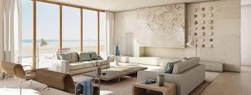 interior design. GRADE New York Architecture + Interior Design | Potato Road Living Room Rendering - Sagaponack, C