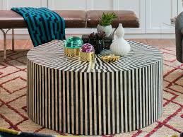 huge round coffee table design