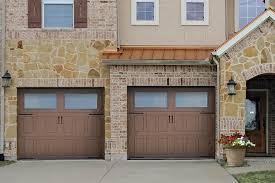impression steel insulated steel garage door