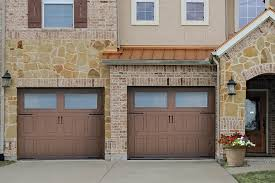 impression steel insulated steel garage door