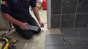 How To Tile A Bathroom Floor Video Tommys Trade Secrets How To Tile A Floor Youtube