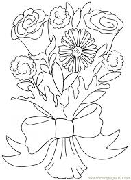 valentine roses valentine roses hearts and roses hearts and roses valentine roses coloring page