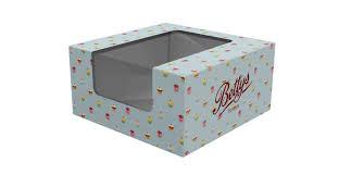 Custom Printed Cake Cupcake Boxes Printed Pack