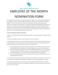 Employee Of The Month On Resume Employee Of The Month Letter Of Recommendation Rome