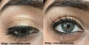 simple golden eye makeup tutorial for beginners