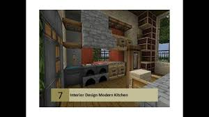 Minecraft Modern Kitchen Minecraft Modern Kitchen Designs Youtube