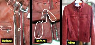 leather jackets cleaner clean suede dye repair jacket before after