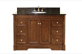 Legion Bathroom Vanity Legion Furniture 49 Single Bathroom Vanity Set With 6 Drawer