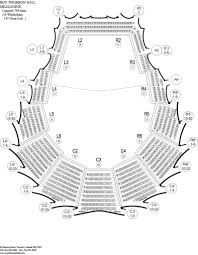 Roy Thomson Hall Seating Chart Detailed Roy Thomson Hall Maplets