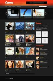 website template video video gallery website template 27659