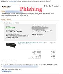 Order Confirmation Amazon Order Confirmation Phishing Scam Emails Hoax Slayer