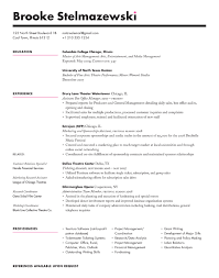 different styles of resumes