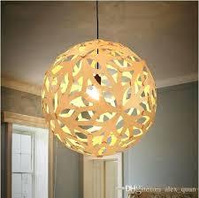 modern white wood chandelier branches