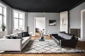 classy home furniture. Classy Home With A Black Ceiling - Via Coco Lapine Design Furniture
