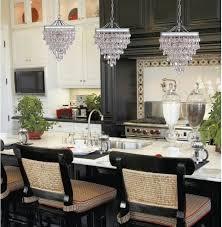 calypso glass drop crystal pendant chandelier contemporain cuisine