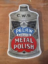 cws pelaw antique. Old Glass Sign - Vintage Shop Advert CWS Co-op Pelaw Polish Tin Can Nto Cws Pelaw Antique