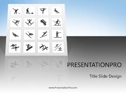 Winter Olympics Powerpoint Template Background In Real