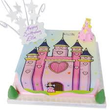Princess Castle Cake Girls Birthday Cakes The Brilliant Bakers