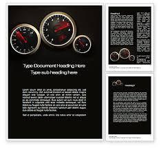 Word Cars Car Dashboard Word Template 10486 Poweredtemplate Com