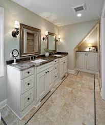 bathroom vanity design. 5 Ways To Make Bathroom Tile Combinations : Awesome Design Using White Vanity Designed V