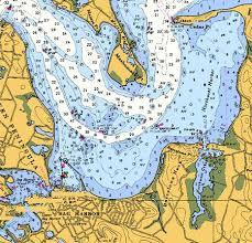 Chart Of Sag Harbor Ny A Frequent Port Destination Sag