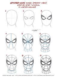 Spiderman Mask Pattern