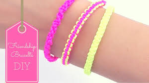 Diy Friendship Bracelets Patterns