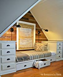 kitchen cupboard internal drawers fresh build this cozy built in bed with stock kitchen cabinet add