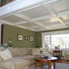 Love the differing sizes and shapes of the boxes in this coffered ceiling.  Gorgeous!