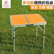 get ations korean version of the red camp outdoor aluminum folding table folding table portable picnic table table