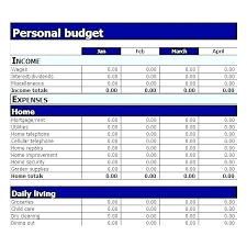 Personal Home Budgeting Household Budget Worksheet Excel Template Free Household Budget
