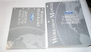 ford f f super duty wiring diagram manual bull cad  2009 2010 ford f 650 f 750 super duty service shop manual wiring