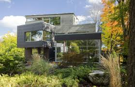 modern home architecture. Brookline Modern Green Home Architecture