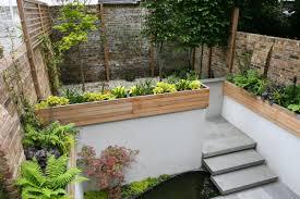 Lawn & Garden:Garden Planter Boxes Ideas With Wooden Container Small Garden  Design Ideas With