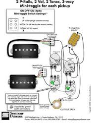 guitar pickup wiring diagram vintage guitars seymour duncan p rails wiring diagram 2 p rails 2 vol