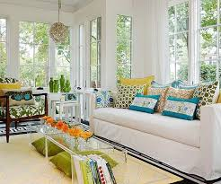 Image Inspiration Porch Ideas Easily Update Any Space With Patterned Pillows Throws Or Rugs More Sunroom Decorating Pinterest Pin By Claire Scott On Home Renovation Tactics Decoración Hogar