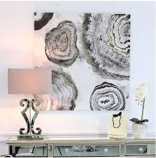 geodes wall art no5a interiors