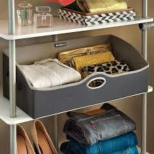 storage bins for closet shelves fabric storage bin best storage containers for closet shelves