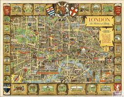 aliexpress com buy 70 55cm english cartoon antiqued london