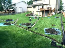 modern yard drainage solutions do yourself a solution to that