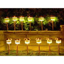 homebrite solar power belmont path lights set of 12 hayneedle very bright outdoor masterhom020 full size