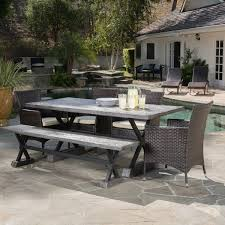 6 piece Ponza Outdoor Picnic Dining Set by Christopher Knight Home 0f12b3aa 47dd 4ba2 bb57 ef3a45 600