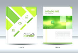 Word Report Format Business Report Format Microsoft Word Annual Brochure Flyer Design