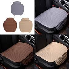 flax car full surround breathable single seat cover cushion pad 11street malaysia floor mats carpets seat covers