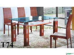 perfect wooden dining table with glass top glass dining table with wooden legs wildwoodsta