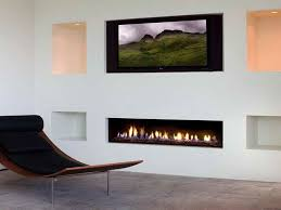 Small Picture Modern Fireplaces Gas with white wall Wish List Pinterest