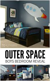 Outer Space Bedroom Outer Space Boys Bedroom The Reveal