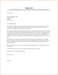 Awesome Collection Of Sample Application Letter For Secondary