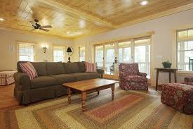 lake cabin furniture. Vermont Lake House Living Room - I Love How Decluttered This Is. Cabin Furniture