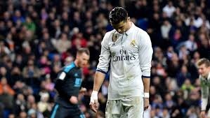 Image result for Ronaldo booed at the bernabeu
